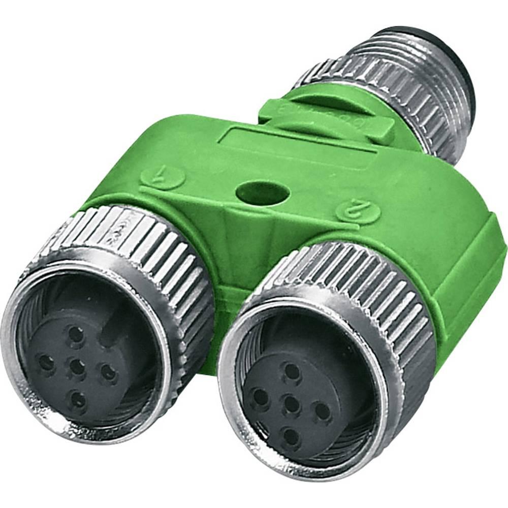 Sensor-/Aktor-Verteiler ARC adapter M12 Adapter, Y-form Pol-tal (RJ): 5 Phoenix Contact 1526253 SAC-5P-M12YF/M12FS-M12MS VP 5 st