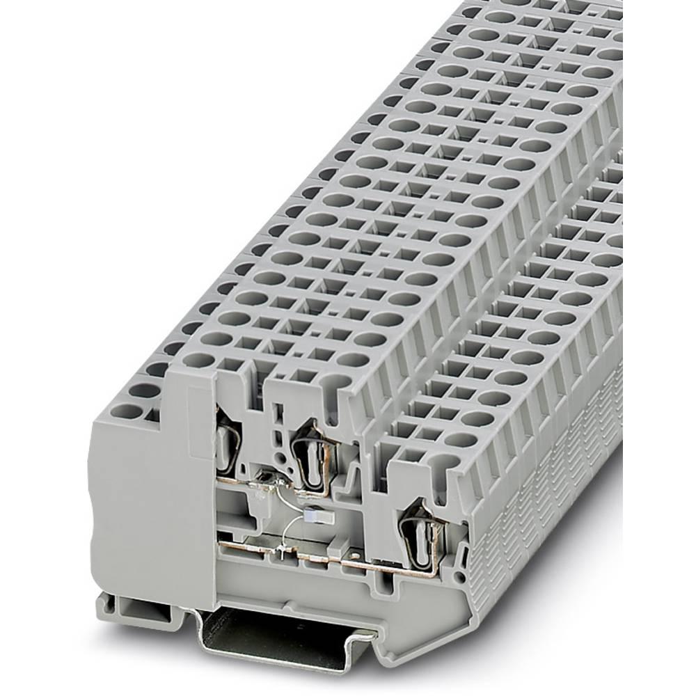 STTB 2.5 PT100 MD - gennem terminal Phoenix Contact STTB 2,5-PT100 MD Grå 50 stk