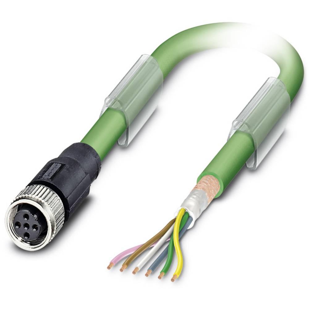 Sensor- /aktor- -datastikforbindelse, konfektioneret Phoenix Contact SAC-5P-10,0-900/M12FSB 1 stk
