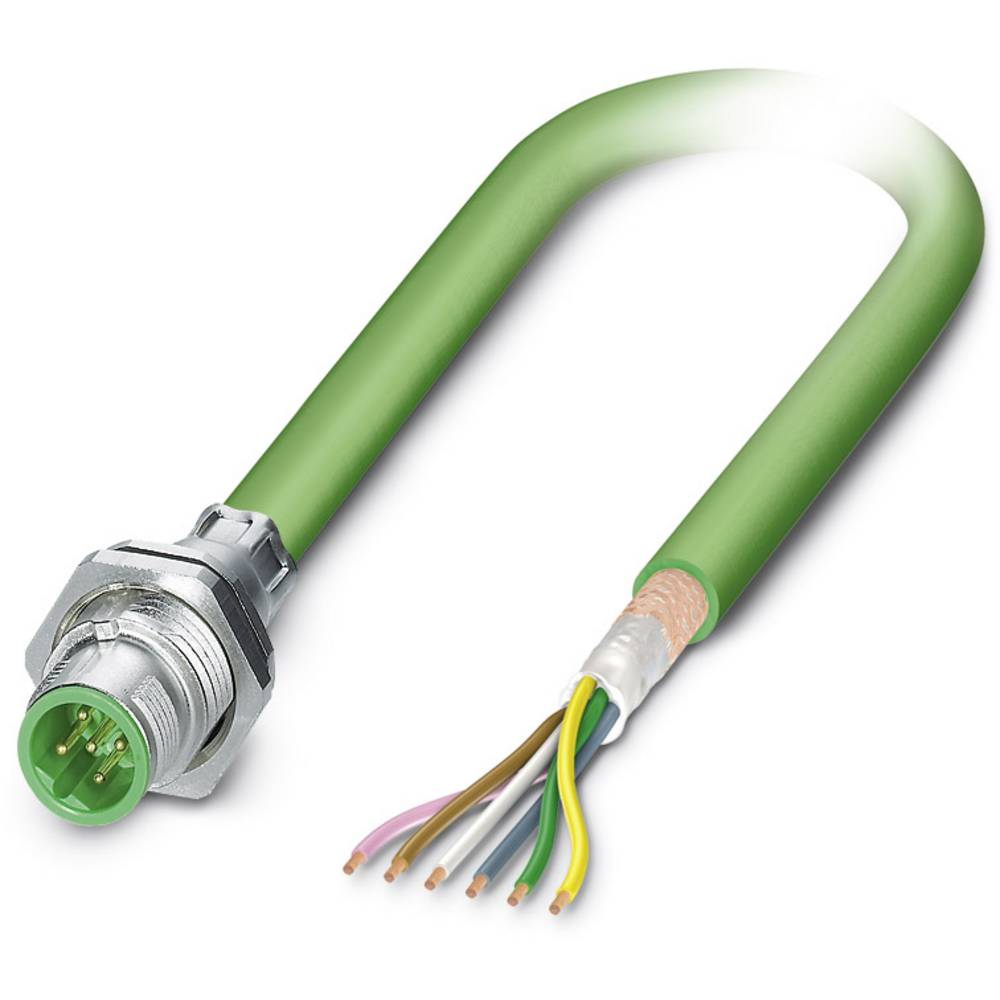 SACCBP-M12MSB-5CON-M16/2,0-900 - S-bus-vgradni vtični konektor, SACCBP-M12MSB-5CON-M16/2,0-900 Phoenix Contact vsebuje: 1 kos