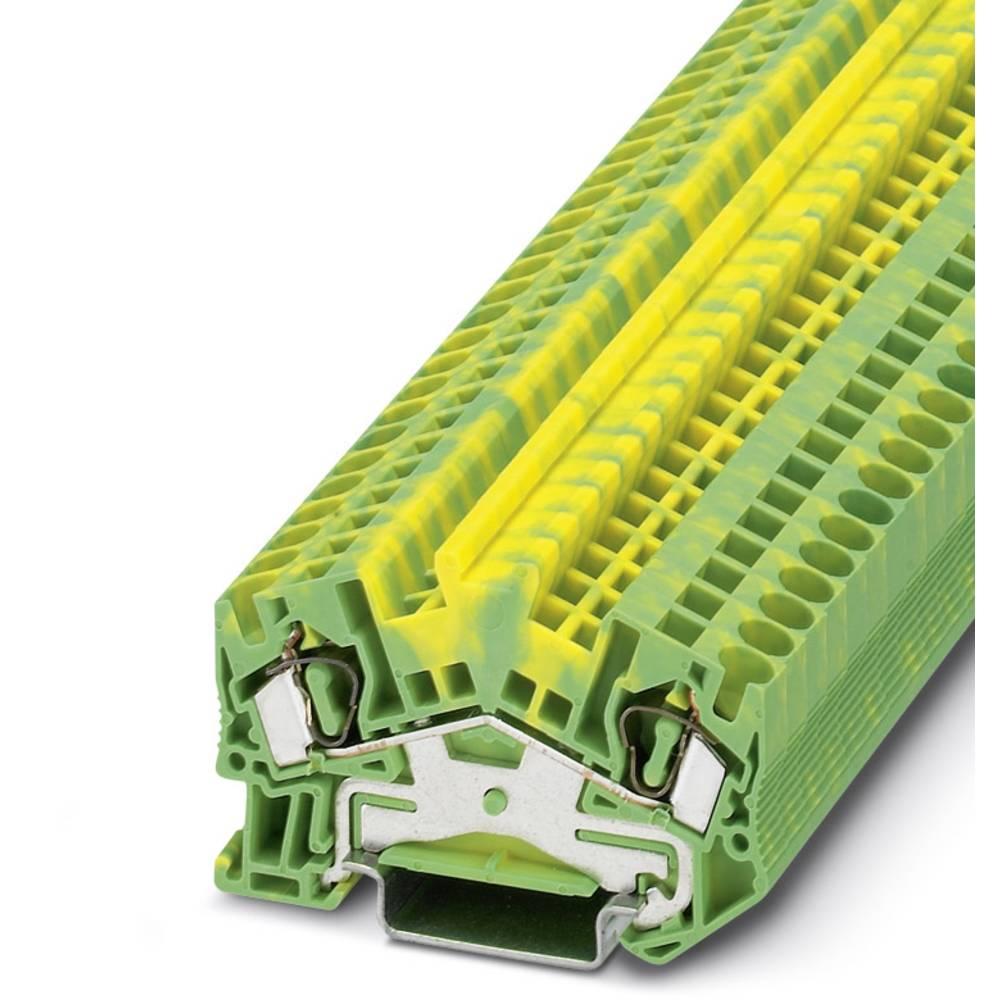 STS 4-PE - beskyttelsesleder klemrække Phoenix Contact STS 4-PE Grøn-gul 50 stk