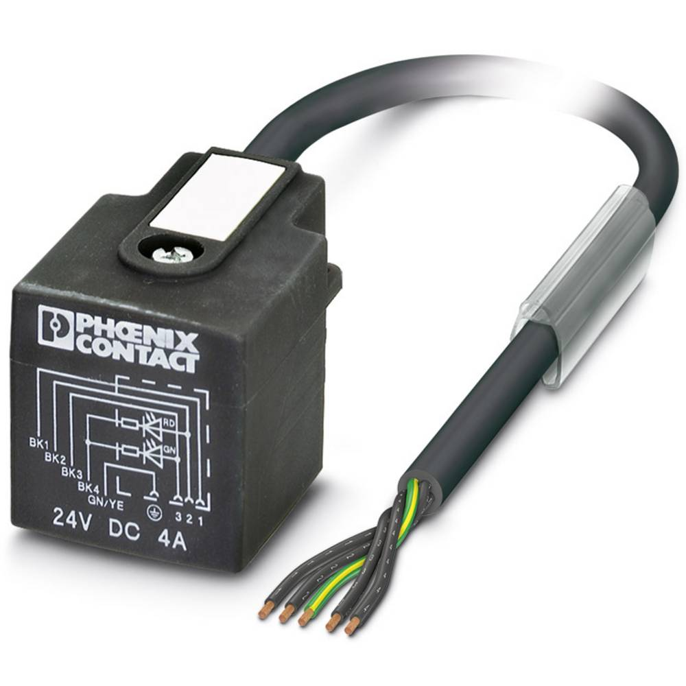 Senzorski/aktuatorski kabel SAC-5P- 3,0-PUR/AD-2L Phoenix Contact vsebuje: 1 kos
