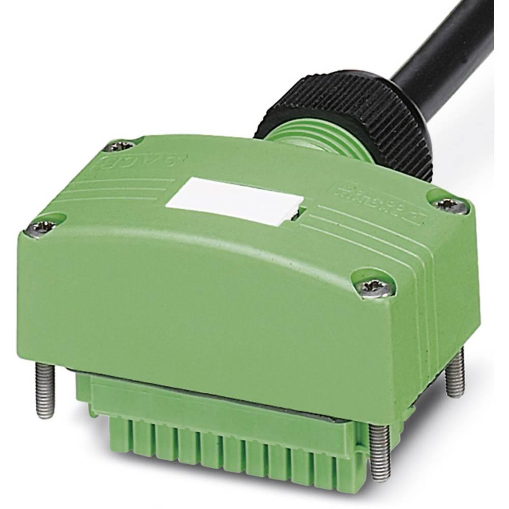 Sensor/aktorbox passiv Tilslutningshætte med ledning SACB-C-H180-8/16-10,0PUR SCO 1516645 Phoenix Contact 1 stk