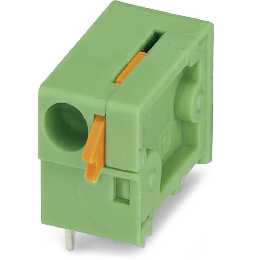 Fjederkraftsklemmeblok Phoenix Contact FFKDSA1/H2-7,62 1.50 mm² Poltal 1 Grøn 250 stk