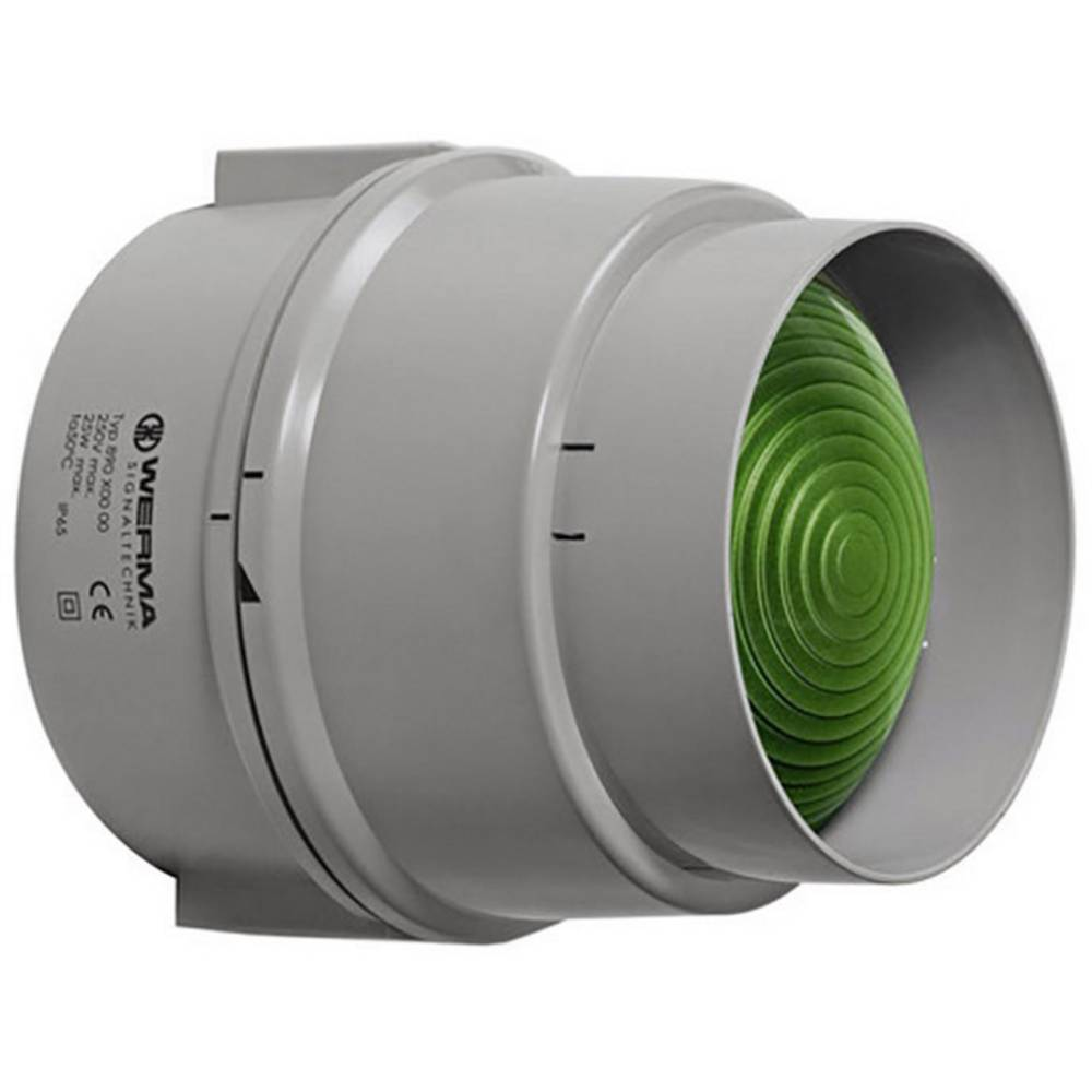 Werma Signaltechnik 890.200.00 Signalna luč 12 - 240 V/AC/DC, zelena