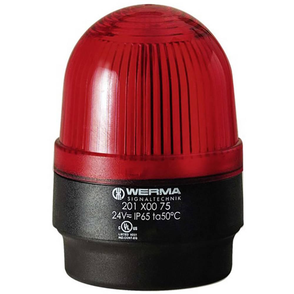 Werma Signaltechnik 202.100.68 Bliskavica 230 V/AC, 30 mA, rdeča