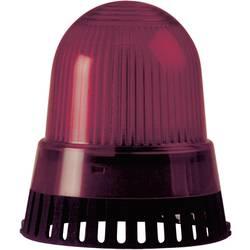 Bljeskalica i zujalo, podna montaža 230V/AC crvena Werma Signaltechnik 421.110.68