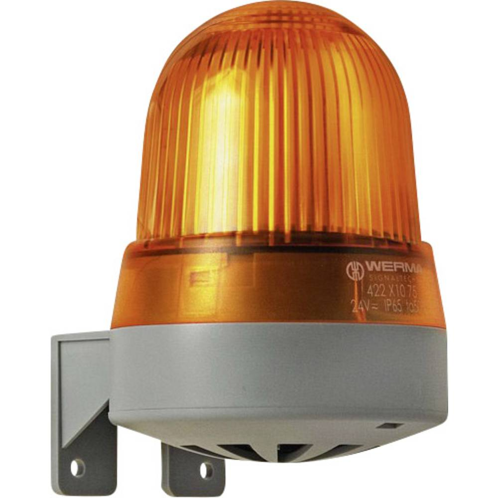 Werma Signaltechnik 423.310.75 Bliskavica/Brenčalo 24 V DC/AC, 135 mA, rumena IP 65