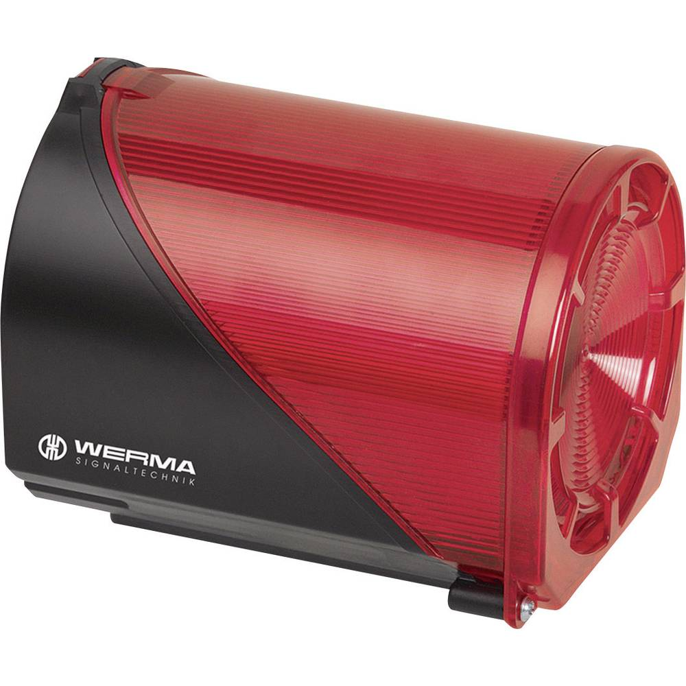 Dupla LED bljeskalica + Višetonska sirena Werma Signaltechnik 444.100.75