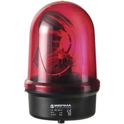 Vrtljivo stakleno svjetlo BM 230 V/AC crvena Werma Signaltechnik 883.100.68