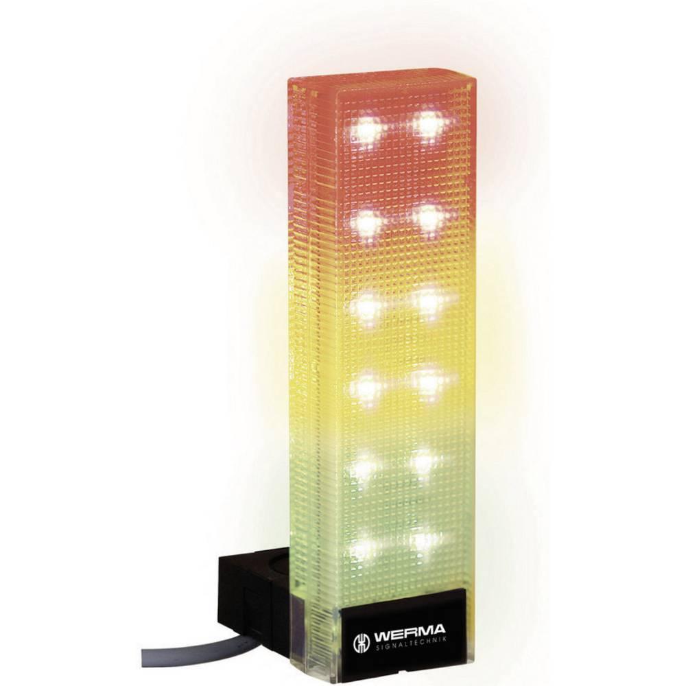 Werma Signaltechnik 690.300.55 LED-Signalni steber Vario SIGN rdeča/rumena/zelena, 75 mA