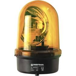 Vrtljivo stakleno svjetlo BM 230 V/AC žuta Werma Signaltechnik 883.300.68
