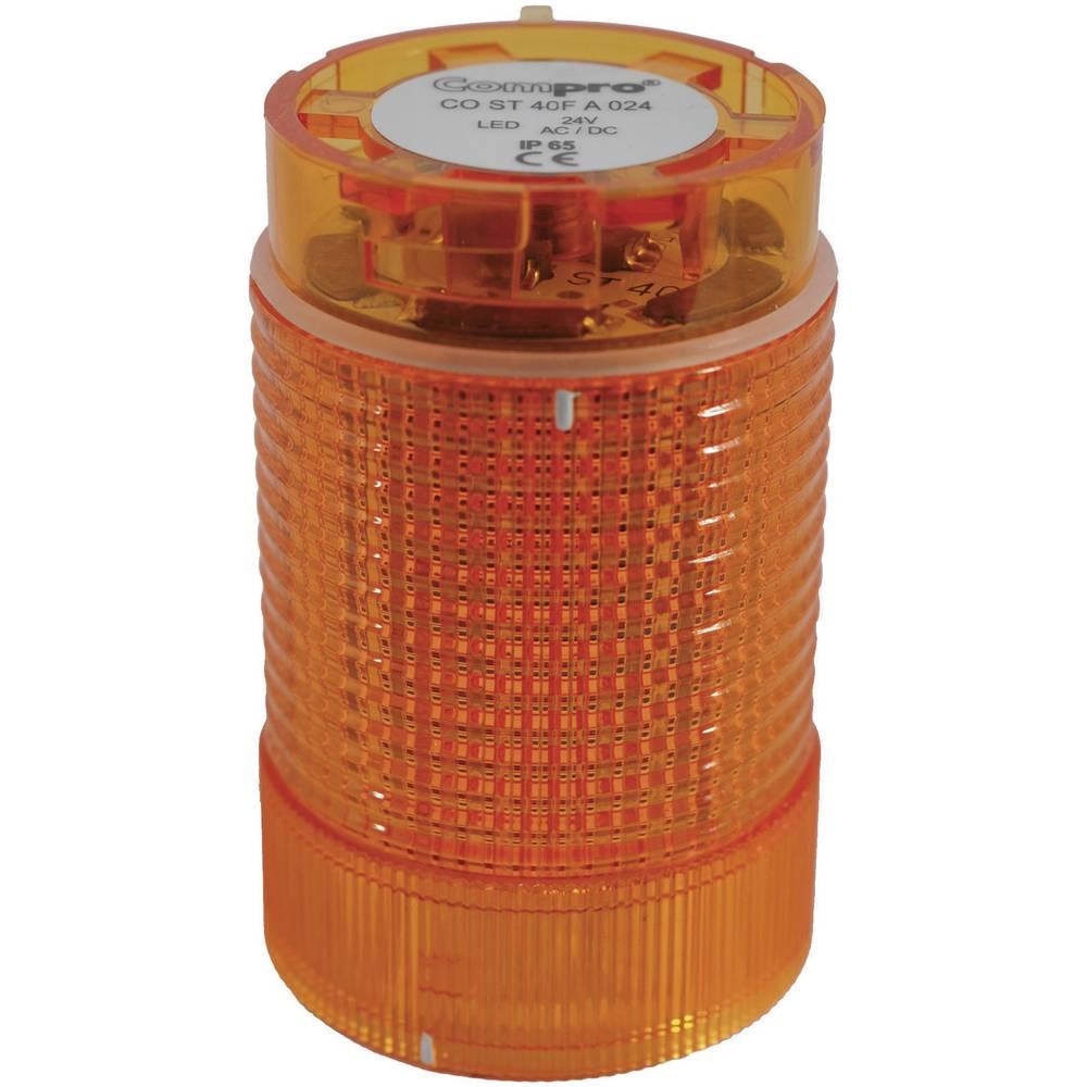 ComPro CO ST 40 AL 024 4F -LED Element signalnog stuba 24V DC/AC, žut IP65