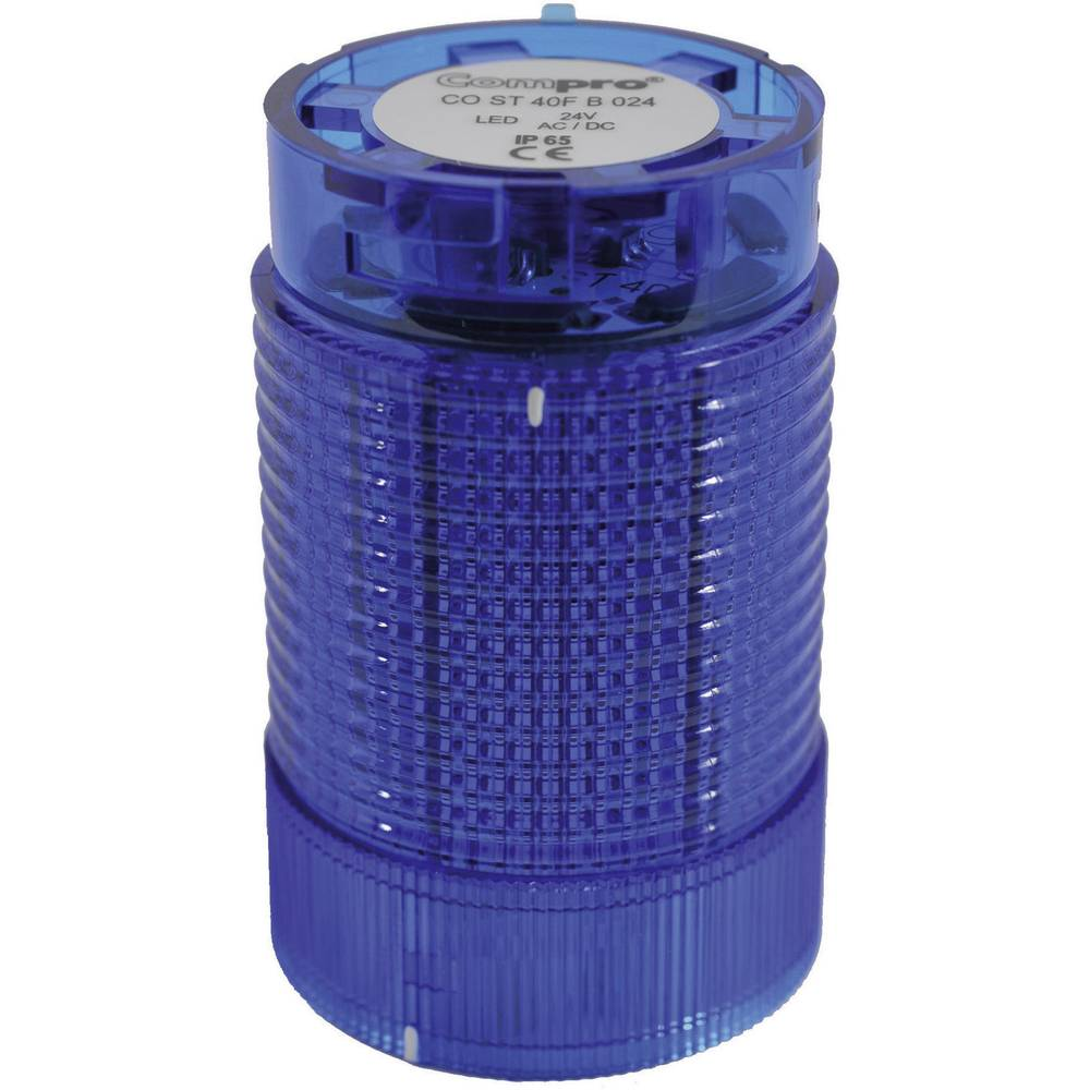 ComPro CO ST 40 BL 024 4F -LED Element signalnog stuba 24V DC/AC, plav IP65