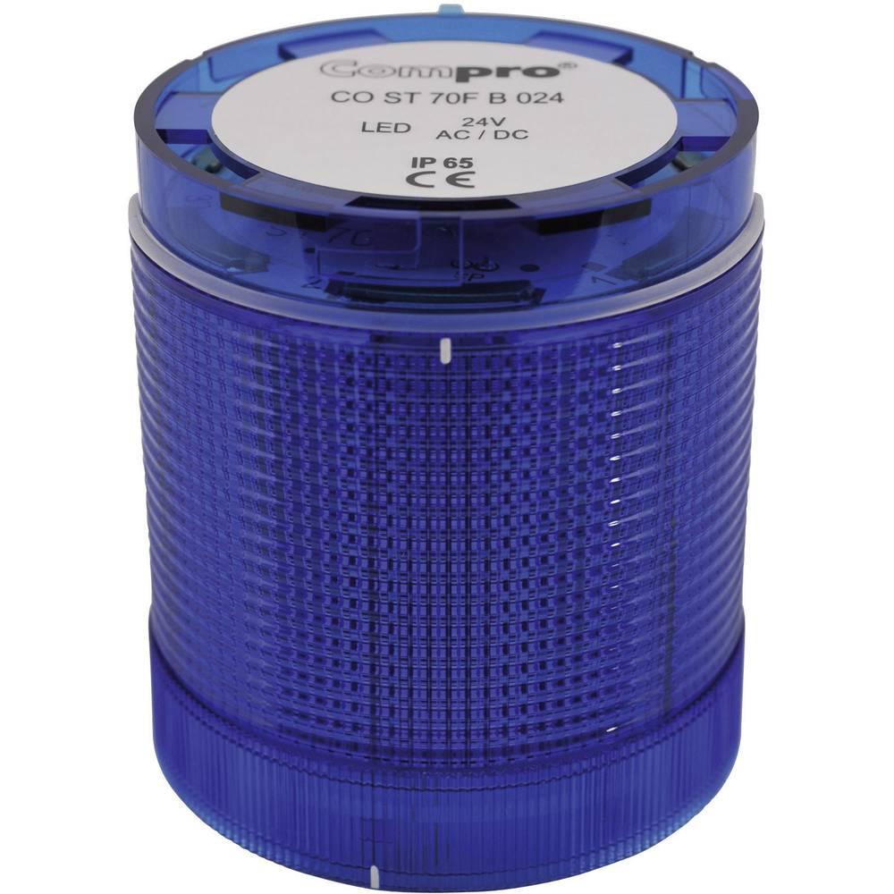 ComPro CO ST 70 BL 024 4F -LED Element signalnog stuba 24V DC/AC, plav IP65