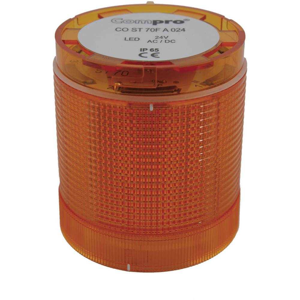 ComPro CO ST 70 AL 024 -LED Element signalnog stuba 24V DC/AC, žut IP65