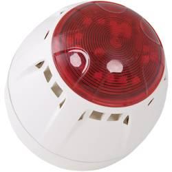 ComPro Sirena z opozorilno LED bliskavico Chiasso Razor 9 - 28 V/DC 67 - 100 dBA, vrsta zaščite IP65, bela