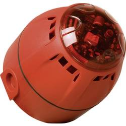 Opozorilna sirena z LED-bliskavico in utripajočo lučjo ComPrvico in utripajočo lučjo ComPr CH/100/AV/DR/RAZOR ComPro