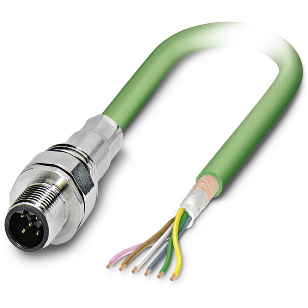 SACCEC-M12MSB-5CON-M16/5,0-900 - S-bus-vgradni vtični konektor, SACCEC-M12MSB-5CON-M16/5,0-900 Phoenix Contact vsebuje: 1 kos