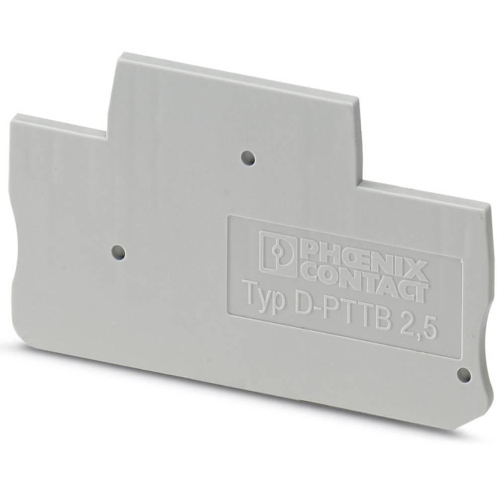 D-PTTB 1.5 / S / 2P - cover D-PTTB 1,5/S/2P Phoenix Contact Indhold: 50 stk