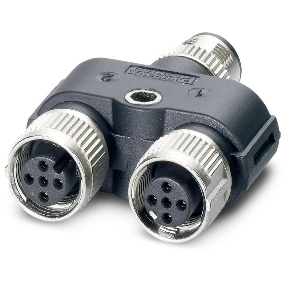 Sensor-/Aktor-Verteiler ARC adapter Phoenix Contact SAC-3P-M12Y/2XM12FS 3L 5 stk