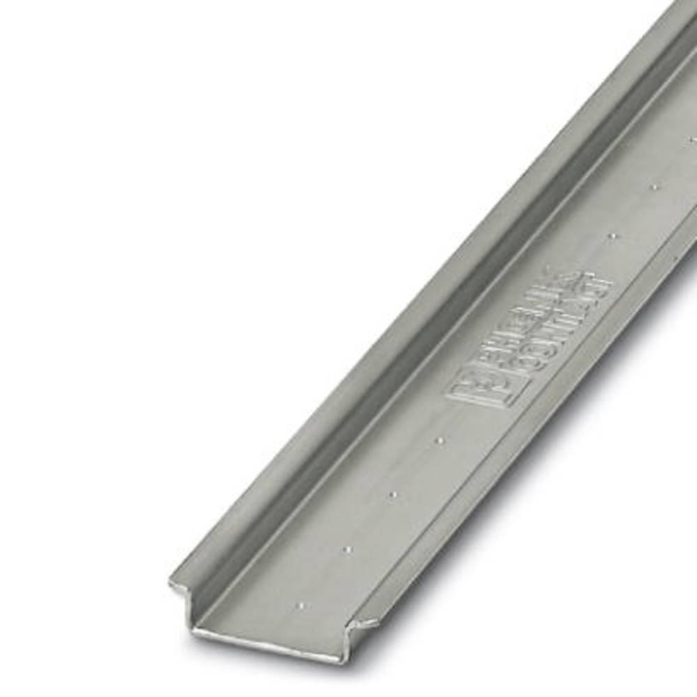 NS 35 / 7.5 AL UNPERF 2000mm - Skinne NS 35/ 7,5 AL UNPERF 2000MM Phoenix Contact Indhold: 5 stk