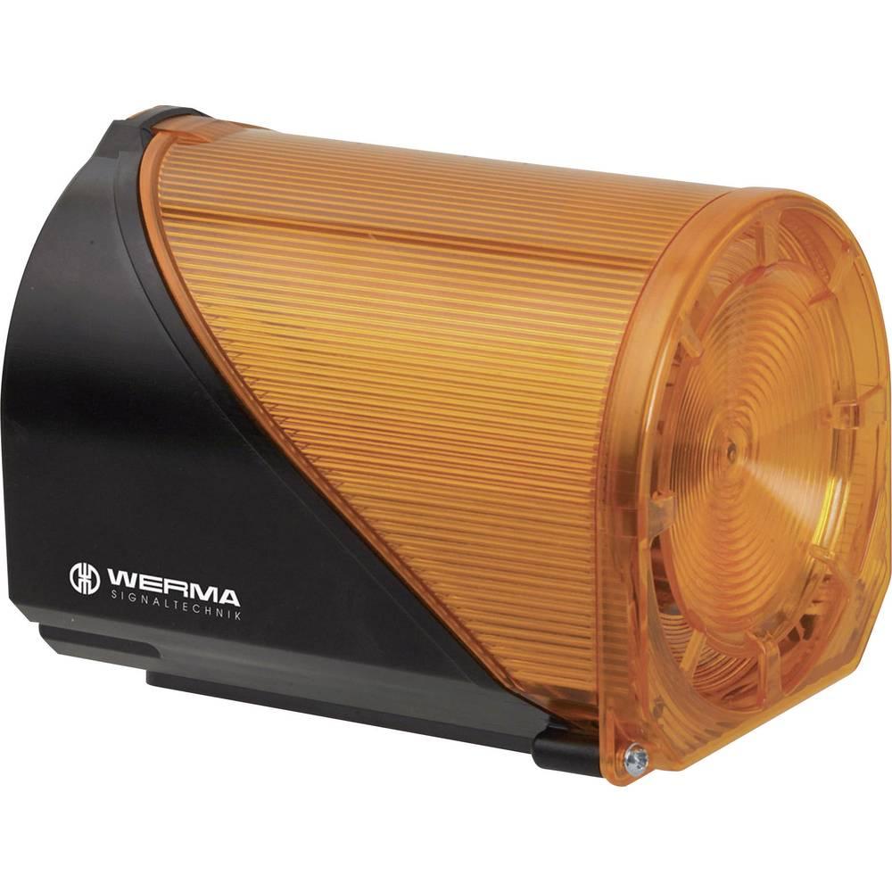 Werma Signaltechnik 444.110.67 LED-EVS luč/Sirena,večtonska 115 V/AC, 85 mA, rumena 444.310.67