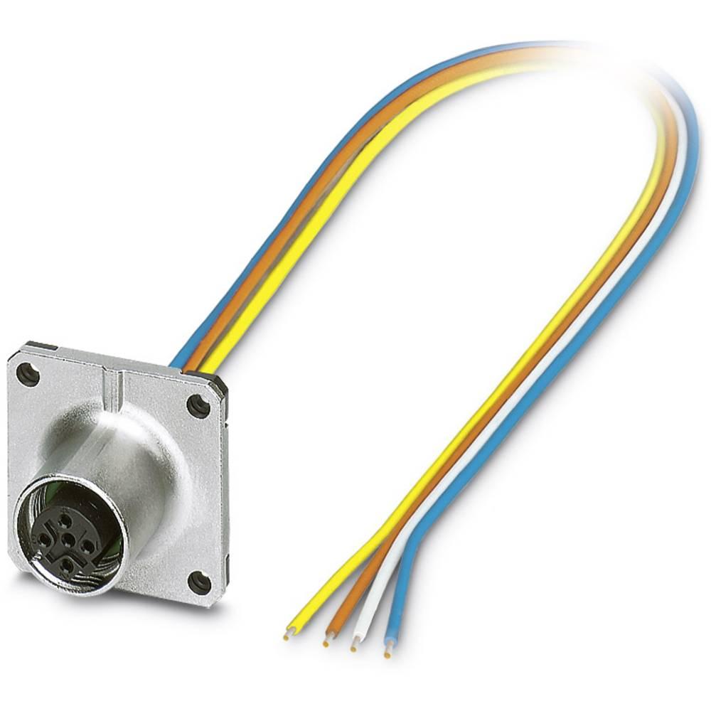 SACC-SQ-M12FSD-4CON-25F/0,5 - vgradni vtični konektor, SACC-SQ-M12FSD-4CON-25F/0,5 Phoenix Contact vsebuje: 1 kos