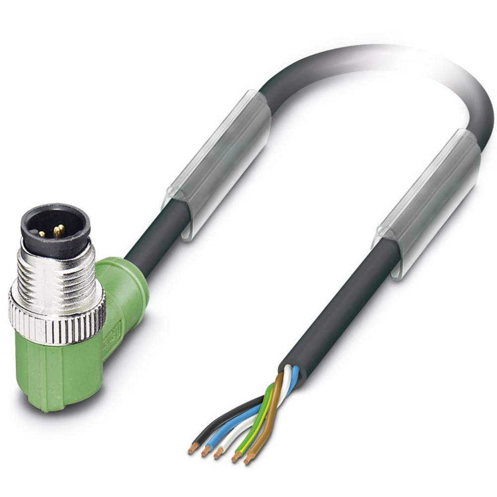 Sensor-, aktuator-stik, Phoenix Contact SAC-5P-M12MR/5,0-PUR 1 stk