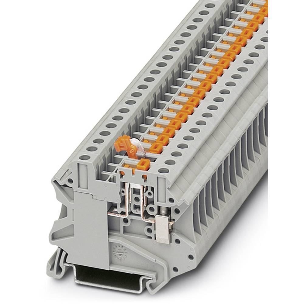Feed-through terminal block UT 4-MT-P/P OG Phoenix Contact UT 4-MT-P/P OG Orange 50 stk
