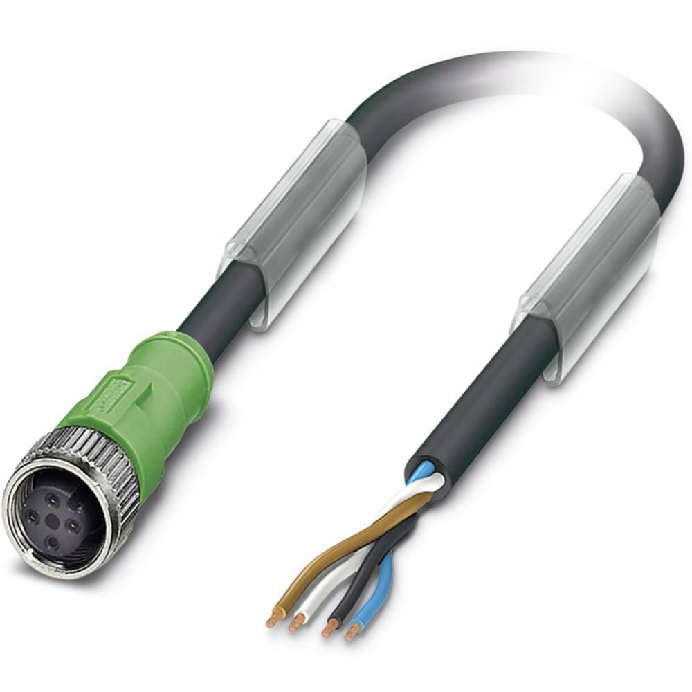 Sensor-, aktuator-stik, Phoenix Contact SAC-4P- 5,0-186/M12FS 1 stk