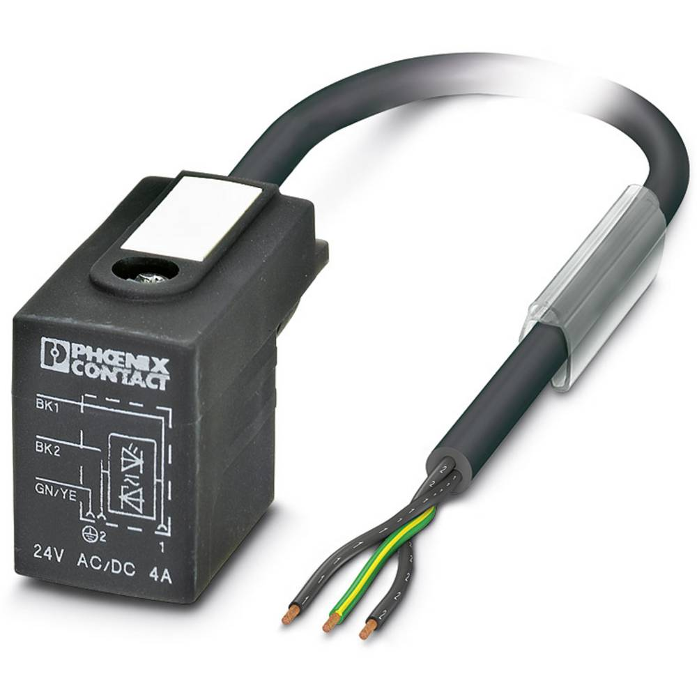 Senzorski/aktuatorski kabel SAC-3P- 5,0-PUR/BI-1L-Z Phoenix Contact vsebuje: 1 kos
