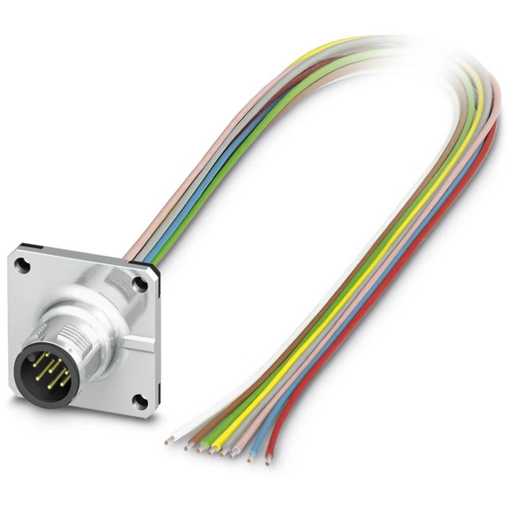 SACC-SQ-M12MS-8CON-20/0,5 - vgradni vtični konektor, SACC-SQ-M12MS-8CON-20/0,5 Phoenix Contact vsebuje: 1 kos