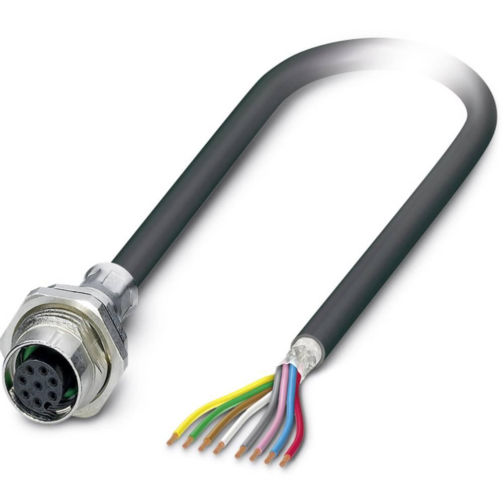 SACCBP-FS-8CON-M16/1,0-PUR SCO - vgradni vtični konektor, SACCBP-FS-8CON-M16/1,0-PUR SCO Phoenix Contact vsebuje: 1 kos