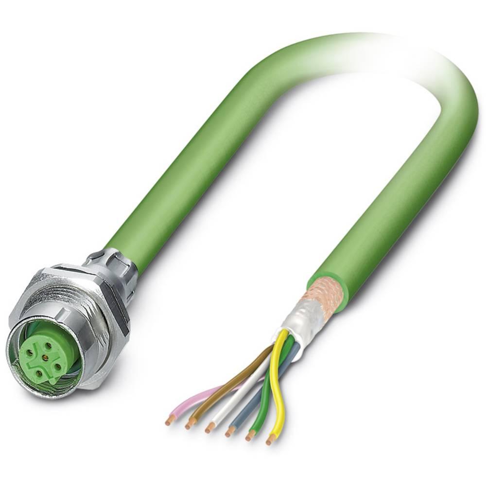 SACCBP-M12FSB-5CON-M16/1,0-900 - S-bus-vgradni vtični konektor, SACCBP-M12FSB-5CON-M16/1,0-900 Phoenix Contact vsebuje: 1 kos