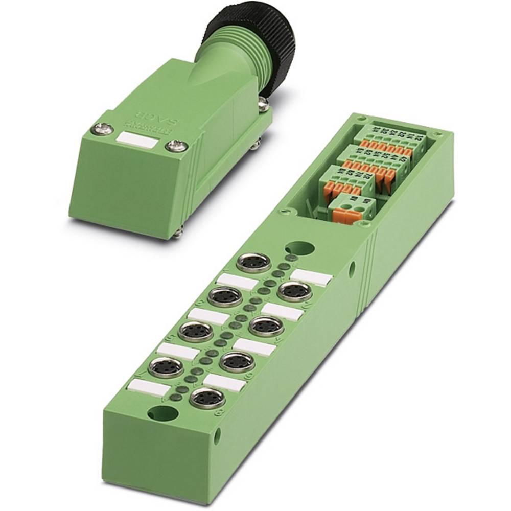 Sensor/aktorbox passiv M8-fordeler med metalgevind SACB- 8/3-L-SC-M8 1511747 Phoenix Contact 1 stk