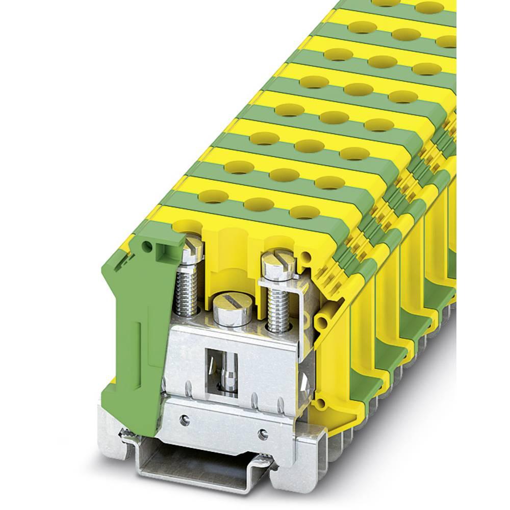 UTI 35-PE - beskyttelsesleder terminal Installation Phoenix Contact UTI 35-PE Grøn-gul 50 stk