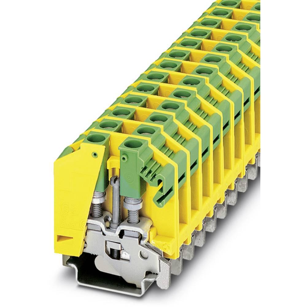OTTA 6-PE - beskyttelsesleder klemrække Phoenix Contact OTTA 6-PE Grøn-gul 50 stk