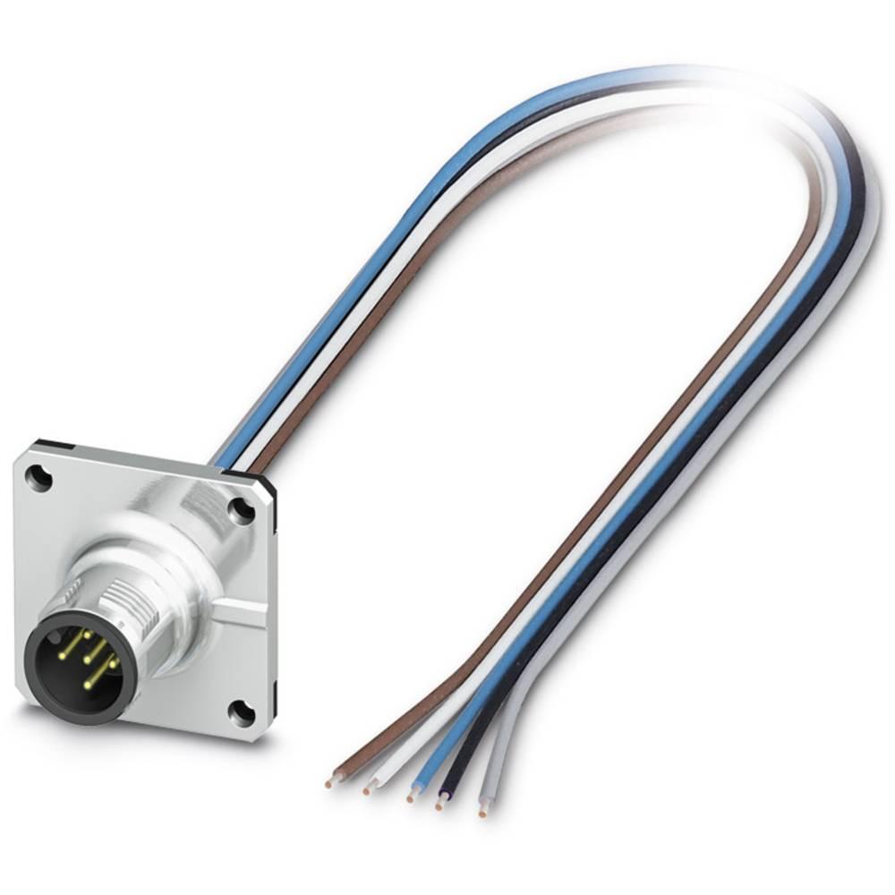 SACC-SQ-M12MS-5CON-20/0,5 - vgradni vtični konektor, SACC-SQ-M12MS-5CON-20/0,5 Phoenix Contact vsebuje: 1 kos