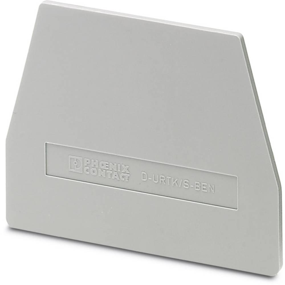 D-URTK / S-BEN - endedæksel D-URTK/S-BEN Phoenix Contact Indhold: 50 stk