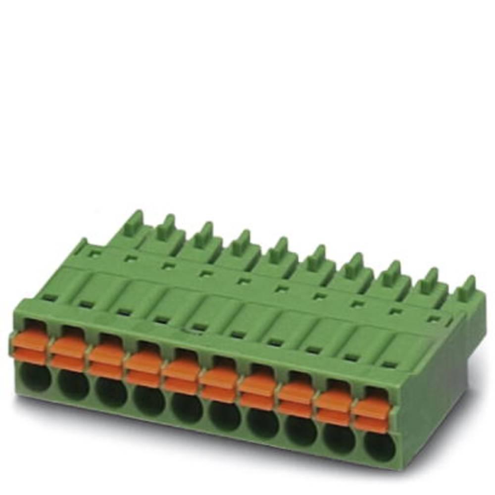 Tilslutningskabinet-kabel FMC (value.1360726) Samlet antal poler 12 Phoenix Contact 1748079 Rastermål: 3.81 mm 50 stk