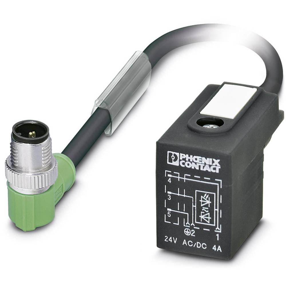 Sensor-, aktuator-stik, Phoenix Contact SAC-3P-MR/ 0,6-PUR/B-1L-Z SCO 1 stk