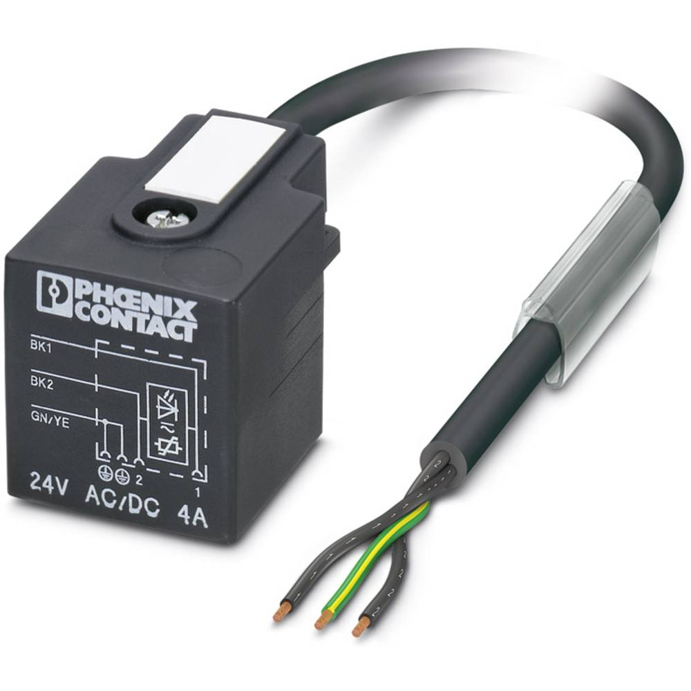 Senzorski/aktuatorski kabel SAC-3P- 1,5-PUR/A-1L-V Phoenix Contact vsebuje: 1 kos