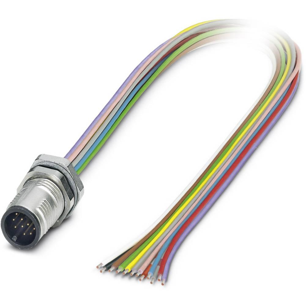 SACC-DSI-MS-12CON-M12/0,5 SCO - vgradni vtični konektor, SACC-DSI-MS-12CON-M12/0,5 SCO Phoenix Contact vsebuje: 1 kos