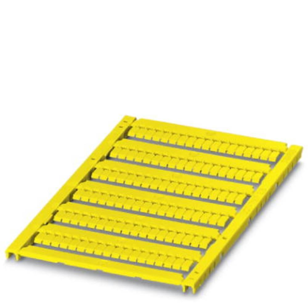 UCT-TMF 3.5 YE - Marker til rækkeklemmer UCT-TMF 3,5 YE Phoenix Contact Indhold: 10 stk