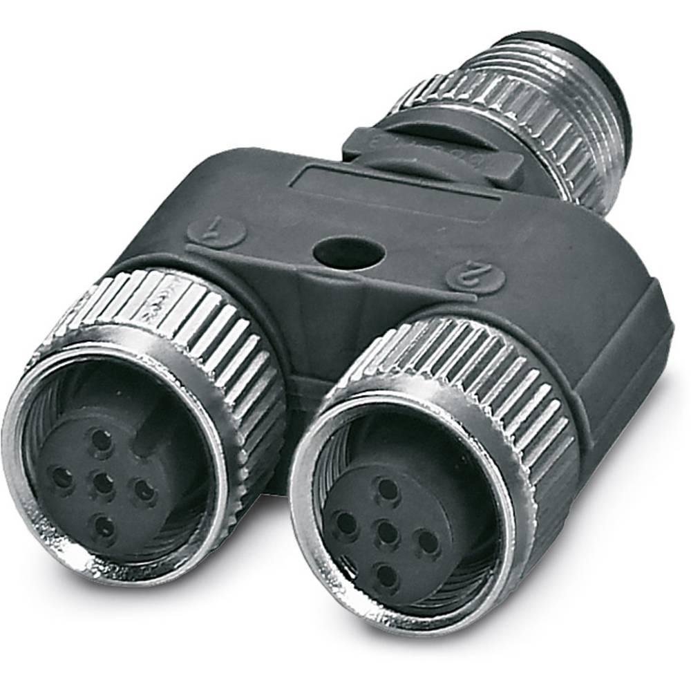 Sensor-/Aktor-Verteiler ARC adapter Phoenix Contact SAC-3P-M12Y/2XM12FS B PE S21BK 5 stk