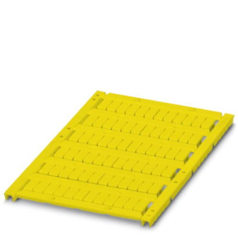 UCT-TM 5 YE - Marker til rækkeklemmer UCT-TM 5 YE Phoenix Contact Indhold: 10 stk