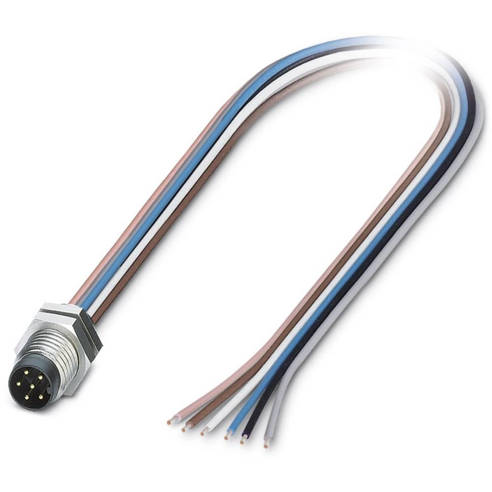 SACC-DSI-M 8MS-6CON-M 8/0,5 - vgradni vtični konektor, SACC-DSI-M 8MS-6CON-M 8/0,5 Phoenix Contact vsebuje: 1 kos