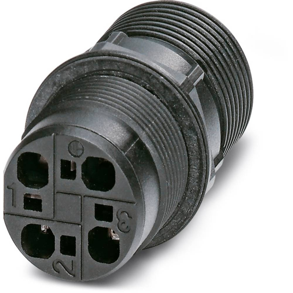QPD W 3PE2,5 M25 DT BK - Wall bøsning Phoenix Contact QPD W 3PE2,5 M25 DT BK 1 stk