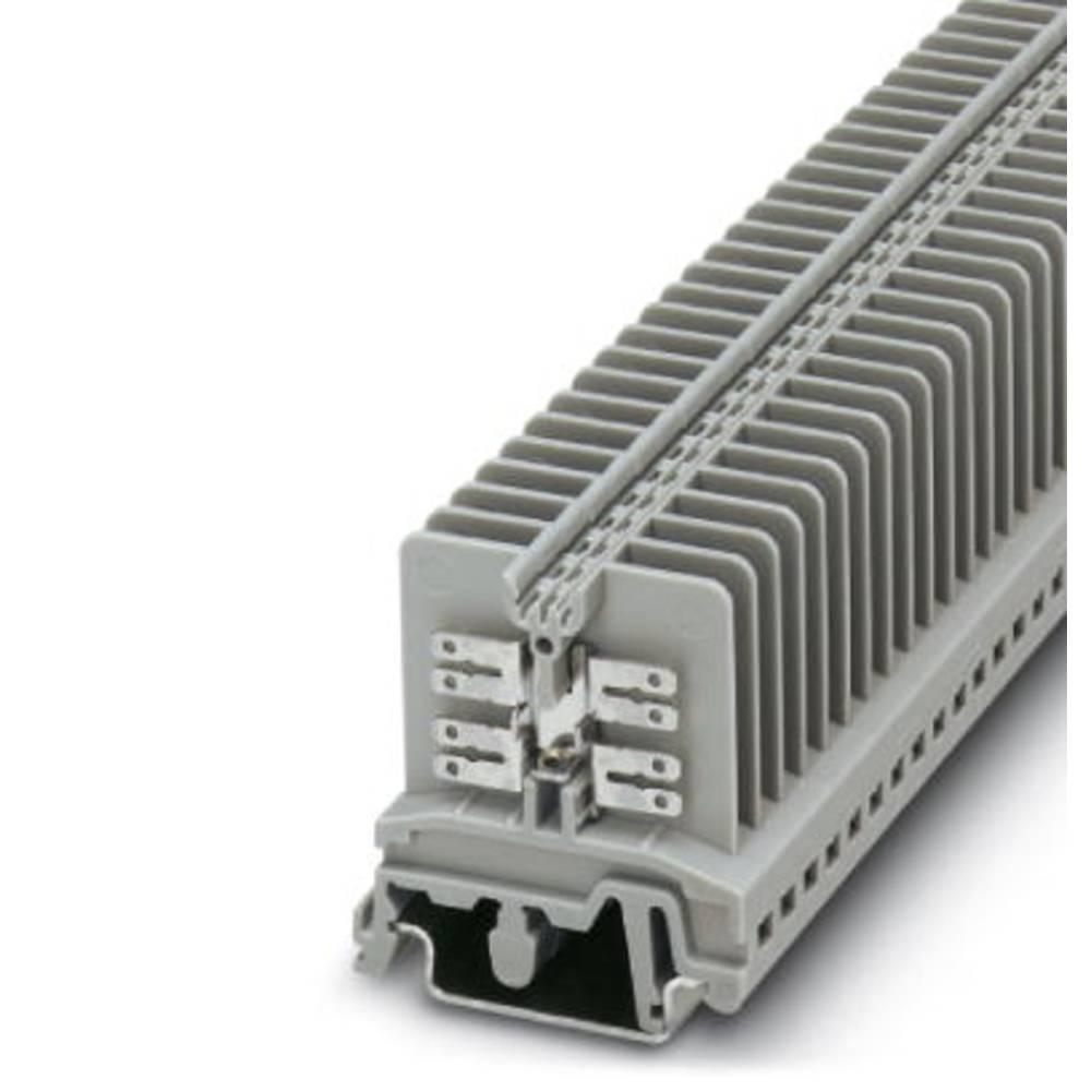 USK 4-FS / FS (8-2,8-0,8) - gennem terminal Phoenix Contact USK 4-FS/FS(8-2,8-0,8) Grå 50 stk
